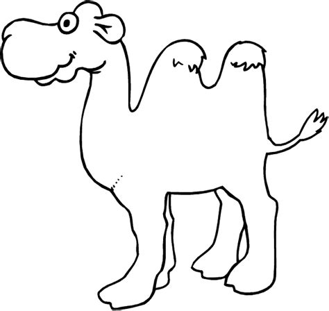 Camel Coloring Pages Coloringpages1001 Com Camel Coloring Page