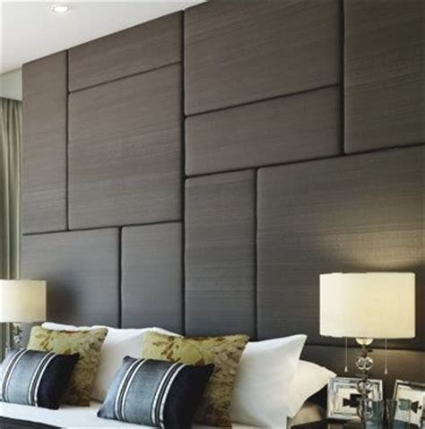 upholstered wall panels  tall headboard solutions