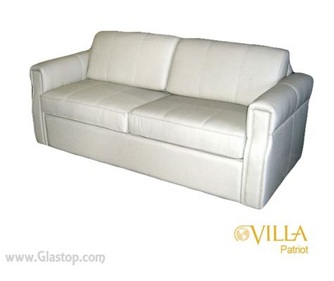 villa patriot jackknife sofa glastop inc