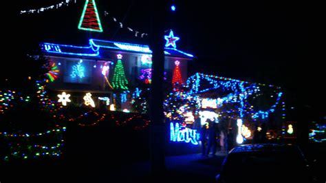 christmas lights in gladesville drive 2014 melbourne