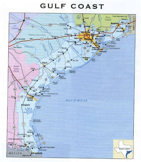 gulf coast of texas map deafnetwork gulf coast