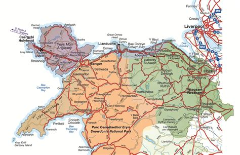 map uk and wales maps of wales tours wales