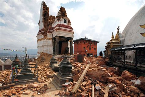 earthquake year nepal s earthquakes one year later the atlantic