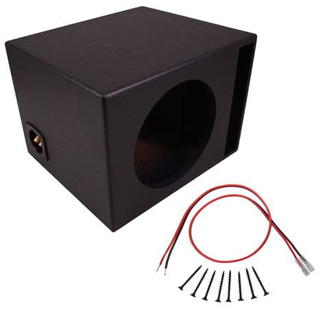 Box Speaker 15 Inch Murah car audio single 15 quot ported subwoofer box coated mdf bass