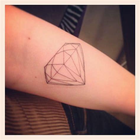 tattoo diamond outline diamond outline tattoo thin you are a diamond
