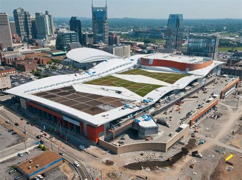 music city center nashville tn lighting design by cm greenroofs com projects nashville music city center