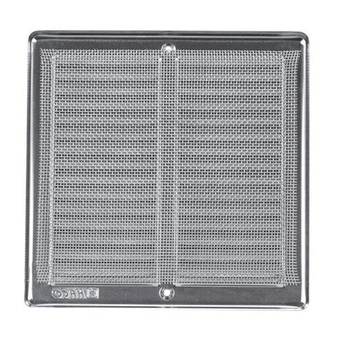 Plaster Ventilation Grills by Brushed Stainless Steel Ventilation Grill 200 X 200 Mm