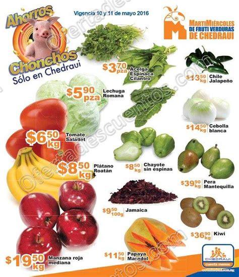martes y miercoles de frutas y verduras chedraui 28 y 29 de enero chedraui martes y mi 233 rcoles de frutas y verduras 10 y 11