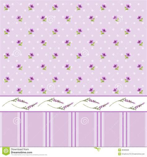 floral wallpaper 2 stock vector illustration of design