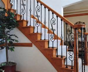 Decorative Banisters by Splashy Wrought Iron Balusters Method Jacksonville