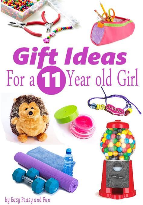 best gifts for a 11 year old girl easy peasy and fun