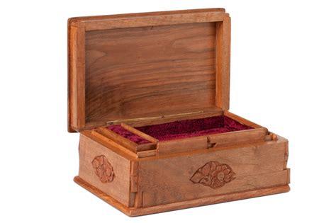 jewelry box walnut wood jewelry box asran decor