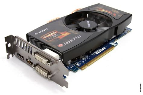 Vga Card Radeon Hd 5770 gigabyte radeon hd 5770 soc review product gallery
