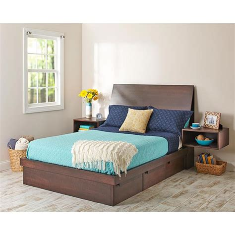 captain s bed with secret storage woodworking plan from