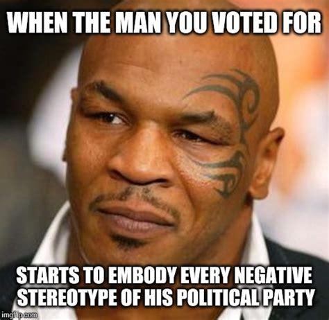 Political Meme Generator - disappointed tyson meme imgflip