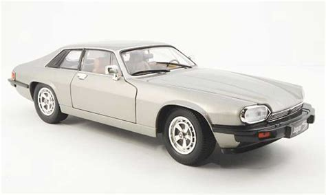 Yatming Jaguar jaguar xjs 1975 gray lhd yat ming diecast model car 1 18 buy sell diecast car on alldiecast co uk