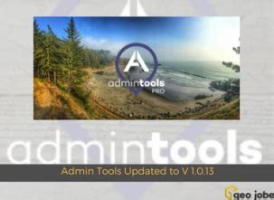 admin tools updated to v 1.0.13 – new features and