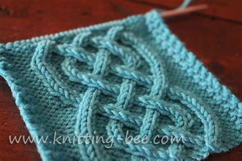 how to knit cables celtic cable knitting pattern free knitting bee