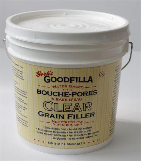 Goodfilla Water Based Clear Grain Filler