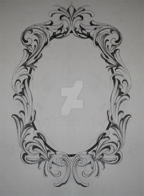 tattoo frames filigree frame request by krishanson on deviantart