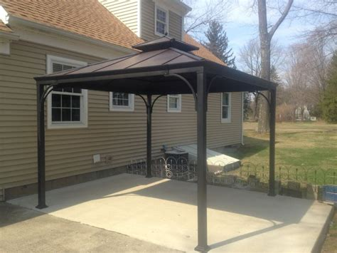 10 x 10 metal gazebo purchased at homedepot