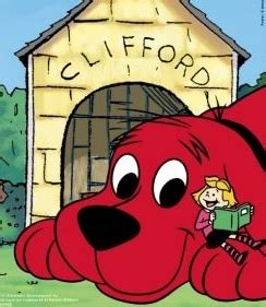 clifford dog house clifford the big red dog wallpaper cartoon image galleries