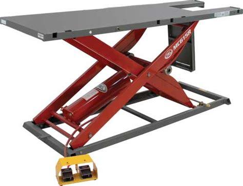 motorcycle air lift bench k l mc615r motorcycle air lift tables