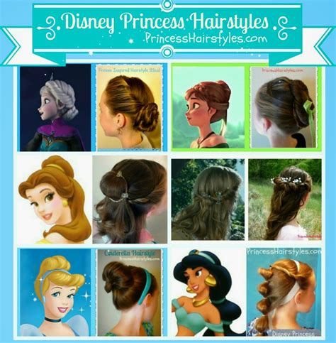 Disney Princess Hairstyle mostly 6 disney princess hairstyles and tutorials