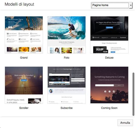 layout su twitter page builder per wordpress soluzioni per creare layout
