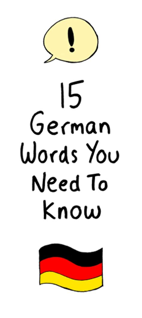 german word for 15 german words you need to living in germany