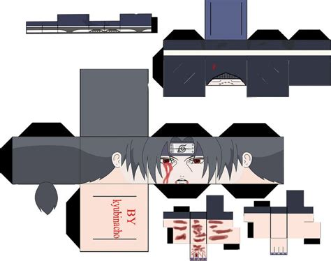 Sasuke Papercraft - wallpapers madara uchiha cubeecraft shippuden real