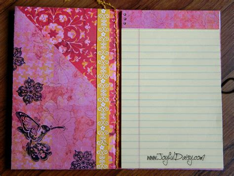 cover quotes tutorial paper notebook cover tutorial template joyful daisy