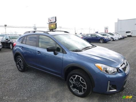 subaru crosstrek lifted blue 2017 quartz blue pearl subaru crosstrek 2 0i 119825396