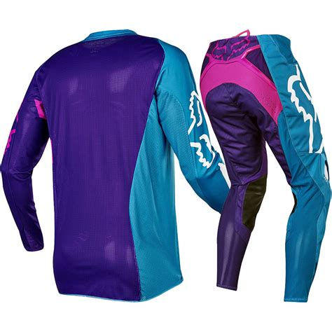 youth fox motocross gear fox racing 2017 mx 360 creo teal purple pink