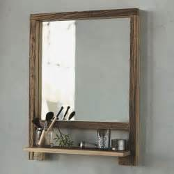 Mirrors With Shelves For The Bathroom » New Home Design