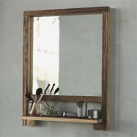 wooden bathroom mirror with shelf bathroom mirrors with shelf for cheap useful reviews of