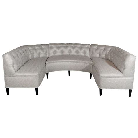 sofa banquette exceptional hollywood tufted sectional sofa banquette in