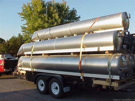 houseboat pontoon tubes used pontoon logs boats for sale