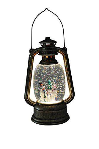 glittering christmas battery operated snow globes eldnacele battery operated lighted led lantern snowman water snow glitter globe