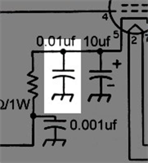 cathode bypass capacitor type the aa8v 6ag7 lifier schematic diagrams and circuit descriptions