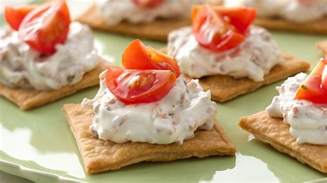 easy appetizers easy bacon tomato appetizers recipe from pillsbury