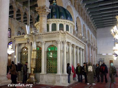 syria john  baptist grave