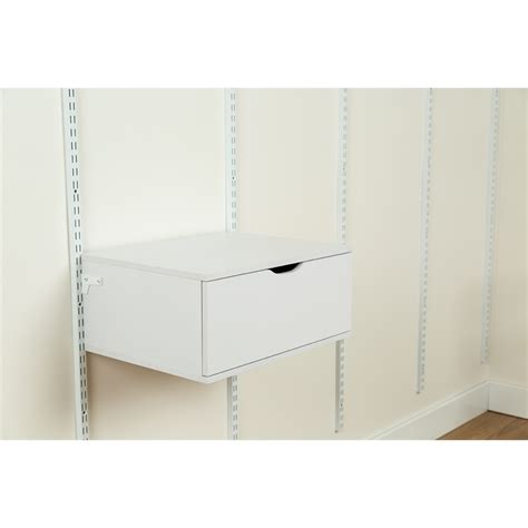 einzelne schublade flexi storage 250 x 580 x 435mm white single drawer unit