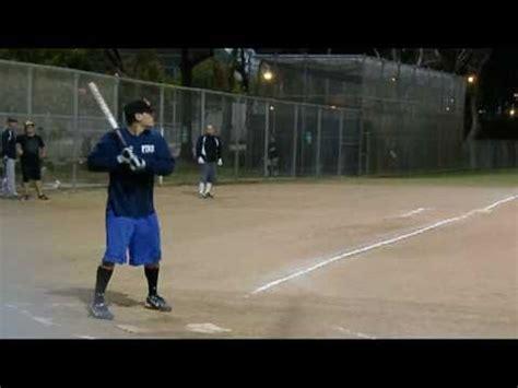 slow pitch softball homerun swing chad corona s mammoth homerun slow pitch softball homerun