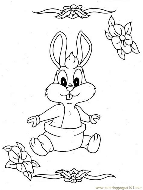 coloring pages of bugs bunny baby coloring pages baby bunny full cartoons gt bugs bunny