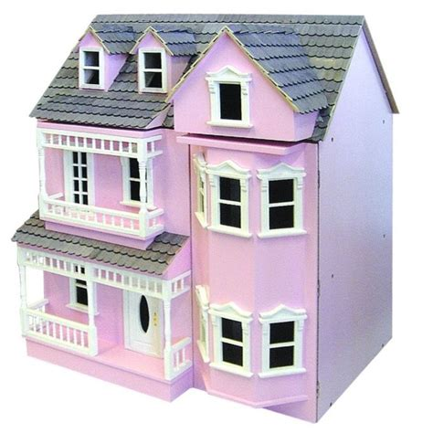 Dh024pp Exmouth Dolls House Painted Pink Minimum World