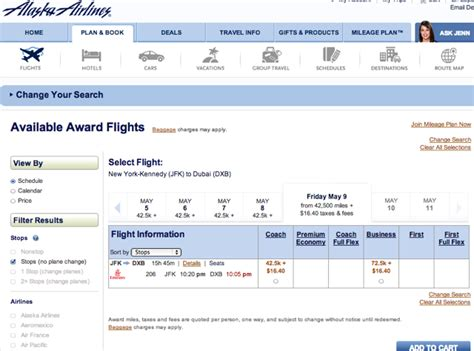 Alaska Airlines Partner Desk by Alaska Airlines New Award Search For Emirates Air