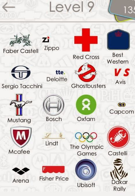 respuestas logos quiz nivel 9 respuestas de logo quiz