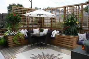 sichtschutz terrasse ideen 26 ideen f 252 r balkon sichtschutz verschiedene
