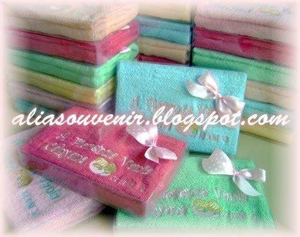 Handuk Souvenir Bayi souvenir handuk bordir kelahiran bayi